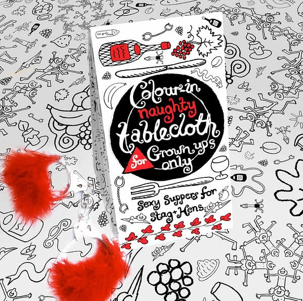 Naughty Valentine Tablecloth