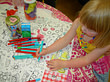 Eggnogg colouring in Tablecloth Summer Holidays