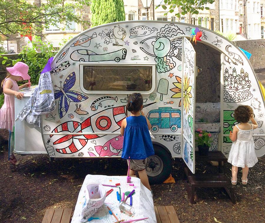 Eggnogg colourin images caravan lifestyle 2017 christchurch side three