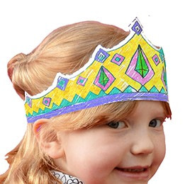 Eggnogg Colour-in Fairy Crown